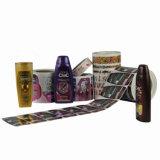 Autoadesivo autoadesivo del contrassegno di alta qualità stampato vendita calda per il pacchetto dello sciampo