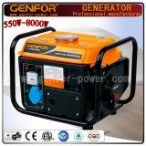 Охлаженный воздухом генератор газолина генератора газолина 650W миниый для домашней пользы