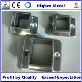 Balustrade et balustrade d'acier inoxydable avec la base carrée