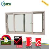 Окно ванной комнаты матированного стекла винила PVC/сползая