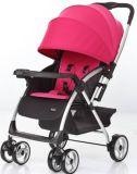 Poussette de bébé en aluminium de luxe européenne de pli avec En1888 reconnu