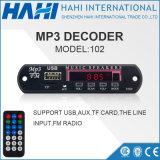 기억 장치 USB/TF 카드 102를 위한 MP3 소형 Decorder 널