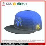 زرقاء [سنببك] قبعة مع حاجة مستديرة