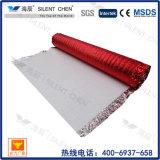 2 mm a prueba de agua espuma de EPE arpillera con aluminio rojo de Cine