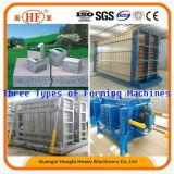Machine d'extrusion de panneau de mur de béton préfabriqué de Hfp530A