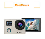 Doppelte Bildschirm-Vorgang WiFi Kamera 4k imprägniern Miniauto DVR