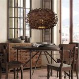 Dekorativer Innenleuchter-hängende Lampe mit Holz für Gaststätte