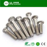 A2-70 A4-70 A4-80のステンレス鋼Ss304 Ss316 316LのステップボルトDIN603