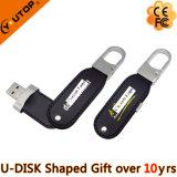 자유로운 선물 (YT-5120)를 위한 중요한 자물쇠 가죽 USB 섬광 드라이브
