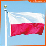 カスタムSunproofの国旗のポーランドの国旗防水すれば