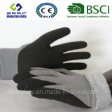 Покрытие нитрила, перчатки работы безопасности отделки Sandy (SL-NS116)