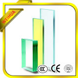 Ontruim/Blauw/Groen/Grijs Veiligheid Gelamineerd Glas