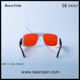 Bastidor ajustable 36 de láser Excimer Gafas de protección para, ultravioleta, lasers verdes- 200-540nm disponibles para: 266nm y 355nm y 515nm y 532nm