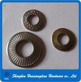 Guindineau en acier galvanisé de fabrication de la Chine fondant la rondelle avec le point