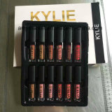 Шарм цвета способа Kylie Moisturizing яркие цвет набора 12 лоска губы/комплект чудесное косметическое Lipgloss
