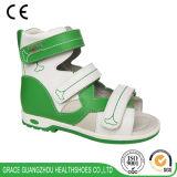 2개의 색깔 아이 건강 단화 아이들 마술 테이프 정형외과용 특수 신발