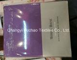 中国の工場卸売の製品によって浮彫りにされるDoddyの縞によって編まれるファブリックによって印刷されるシーツ