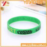 Изготовленный на заказ Wristband кремния логоса Deboss для подарка промотирования