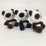 Regalo promozionale di Keychain di seduta del panda della peluche del giocattolo molle dell'animale farcito