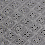 Petit tissu à jour de lacet de coton de broderie