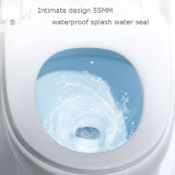European Standard Ce Round Shape Popular One Piece Water Closet (BC-1304)