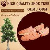 Justierbarer kundenspezifischer glatter hölzerner Schuh-Baum