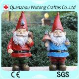 Piscina Jardim Resina Decoração de Natal Santa Claus Figurine
