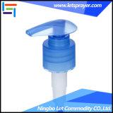 28/410の青いプラスチック良いディスペンサーのシャンプーの石鹸ねじローションのスプレーヤーポンプ