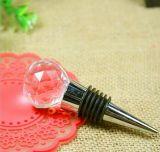 Accessori del vino di cristallo--Tappo del vino del loto