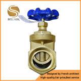 Válvula de porta de latão de design novo para controle de água