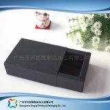Papel de Kraft que empaqueta el rectángulo extraible para el regalo de la joyería (xc-pbn-022)