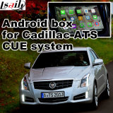 Caixa de interface de vídeo de navegação GPS do carro Android para Cadillac ATS, Xts, Srx, Cts, Xt5, Chevrolet Malibu (CUE SYSTEM) Upgrade Touch Navigation, WiFi, Mirrorlink