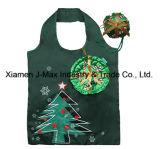 Navidad Bolsa de regalo, Estilo muñeco de nieve, plegable, práctico, ligero, promoción, regalos, bolsos, accesorios y decoración