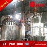 Todavía del crisol equipo calentado al vapor de la unidad de la destilación para el brandy