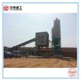 25m3/H Precio Hormigonera planta de procesamiento por lotes con servicio en el extranjero