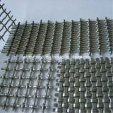 Используемая конструкцией сетка волнистой проволки