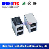 결합 USB 연결관에 금속 방패 8p8c RJ45