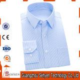Camisa de alineada de Coton de los hombres largos de la funda de la alta calidad