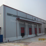 Magazzino di logistica della struttura d'acciaio in Uzbekistan