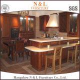 N & L Simple Meubles de cuisine en bois massif des armoires de cuisine de luxe
