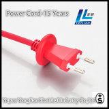 Cable de alimentación de 10A con certificado de Suiza