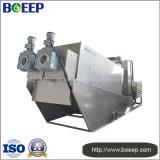 Máquina de la prensa de filtro de tornillo del tratamiento de aguas residuales