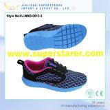 Chaussures de sport unisexe EVA de haute conception avec tissu en maille respirant en haut