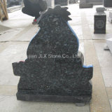 Blue Pearl Granite Eeyore Escultura Baby Headstones