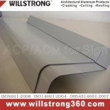 Panneau en aluminium pour mur rideau PVDF revêtement