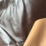 Cuero suave de la PU del poliester para el sofá seccional de la silla del movimiento