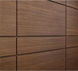 Houten kijk als het Comité van het Aluminium voor de Binnenlandse Decoratie van het Winkelcomplex