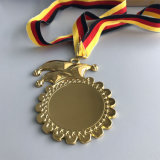 カスタム金属の金張り賞メダル