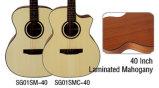 40-дюймовые Aiersi оптовой музыкальные инструменты акустическая гитара (SG01SM-40)
