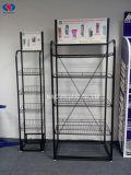 Kundenspezifische Fußboden-stehende Metalldraht-Bildschirmanzeige-Zahnstange